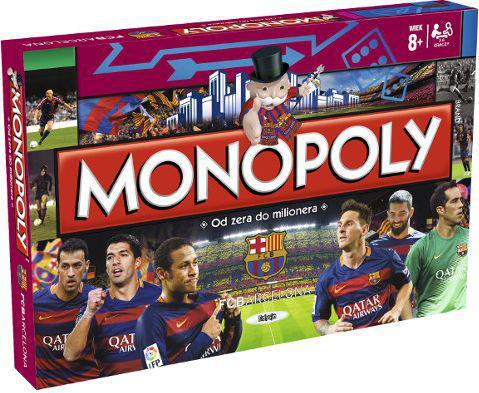 Hasbro Monopoly FC Barcelona PL (27595)