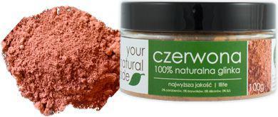 Your Natural Side glinka czerwona Illite  100g
