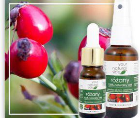 Your Natural Side różany (olej, nierafinowany) 10 ml