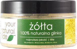 Your Natural Side glinka żółta Illite 100g