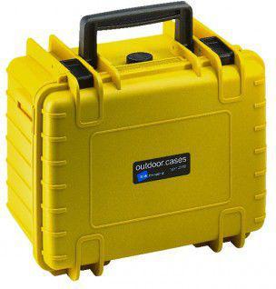Walizka foto B+W Type 2000, z gąbką, żółta  (2000/Y/SI)