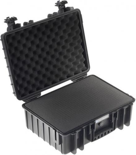 Walizka foto B+W Type 5000 z gąbką, czarna (5000/B/SI)