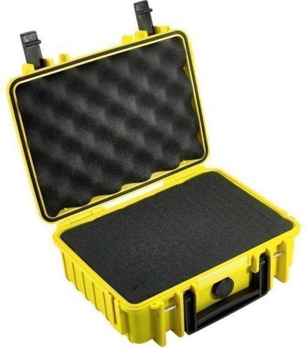 Walizka foto B+W B&W International Type 1000 z gabką, żółty (1000/Y/SI)