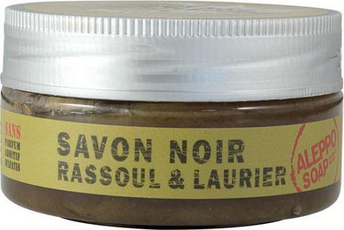 Tadé  Czarne mydło SAVON NOIR z glinką rassoul i olejem laurowym 140g