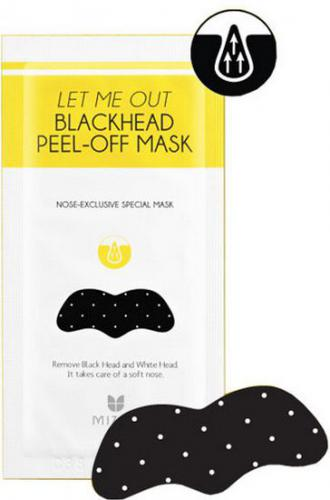 MIZON Plasterek na zaskórniki Let Me Out BlackHead Peel-Off Mask