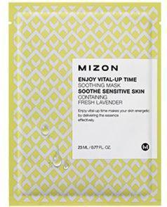 MIZON Wygładzająca maska z lawendą Enjoy Vital-Up Time Soothing Mask