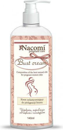 Nacomi Ujędrniający balsam do pielęgnacji biustu dla kobiet w ciąży 140ml