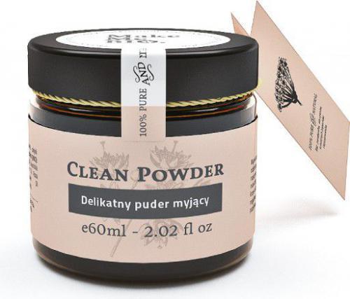 Make Me Bio Delikatny puder myjący do twarzy CLEAN POWDER 60ml