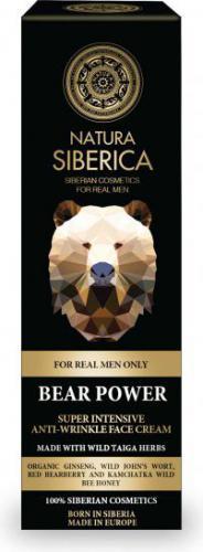 Natura Siberica Men Intensywny krem przeciwzmarszczkowy Siła Niedźwiedzia 50ml