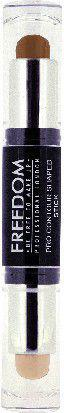 Freedom Pro CONTOUR SHAPED STICK Sztyft do konturowania twarzy Medium 01