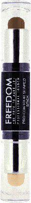 Freedom Pro CONTOUR SHAPED STICK Sztyft do konturowania twarzy Medium 02