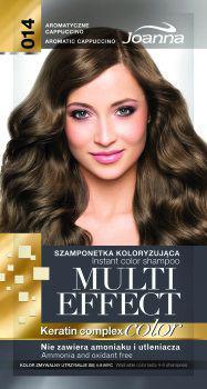 Joanna Multi Effect Color Keratin Complex Szamponetka 14 Aromatyczne Cappuccino  35 g
