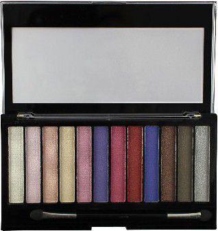 Makeup Revolution Redemption Palette 12 Zestaw cieni do powiek Unicorns Are Real   14g (12 kolorów)