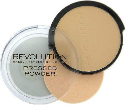Makeup Revolution Pressed Powder Puder prasowany Translucent  6.8g