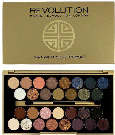 Makeup Revolution BBB Palette 30 Zestaw cieni do powiek Fortune Favours The Brave (30 kolorów)  16g