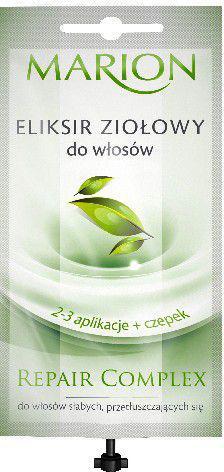 Marion Repair Complex Eliksir ziołowy do włosów + czepek 20 ml