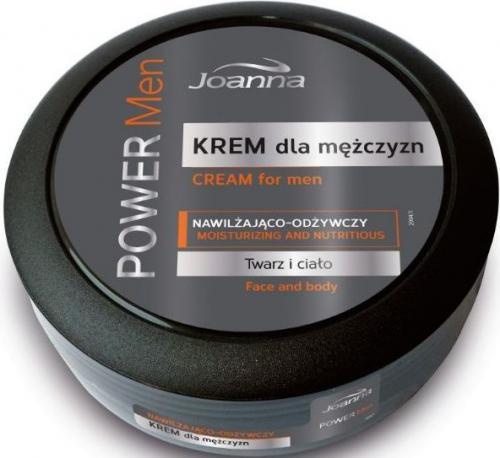 Joanna POWER MEN Krem dla mężczyzn 100g - 526574