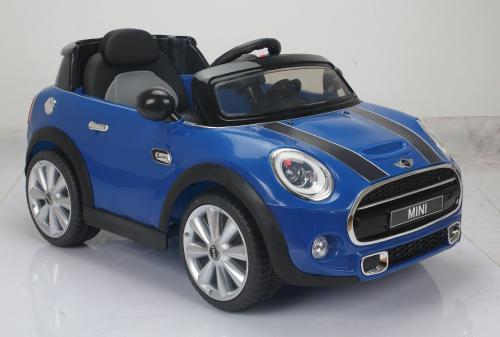 LEANToys Auto na akumulator MINI S, Niebieskie