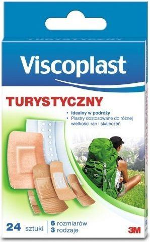VISCOPLAST  Plaster sportowy turystyczny 24szt. Viscoplast  roz. uniw