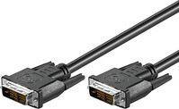 Kabel MicroConnect DVI-D - DVI-D 2m Czarny (MONCCS2)