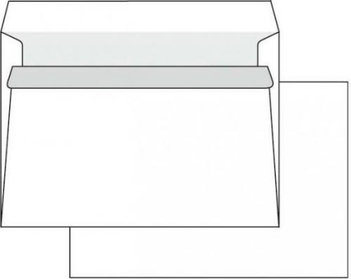 Krpa Koperta samoprzylepna C5, 162 x 229mm, biała 1000 szt.