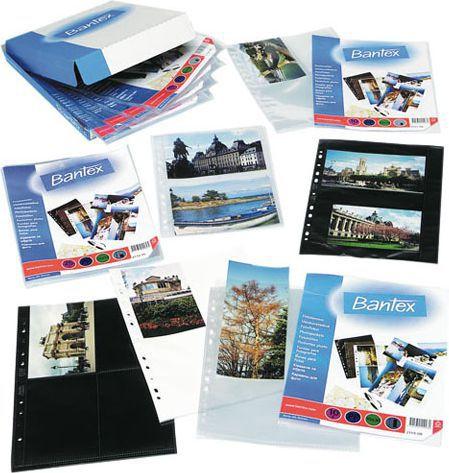 Bantex KOSZULKI NA ZDJĘCIA 10X15 PIONOWE, A4, 10 SZT. - zakupy dla firm - 211208