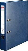 Segregator Herlitz dźwigniowy A4 50mm niebieski (0011167483)