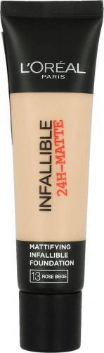 L´Oreal Paris Infallible 24-Matte Mattifying Foundation 13 Rose Beige 35ml