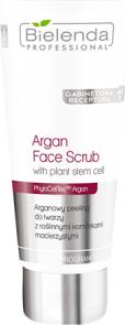 Bielenda Professional Arganowy peeling do twarzy z roślinnymi komórkami macierzystymi 150g