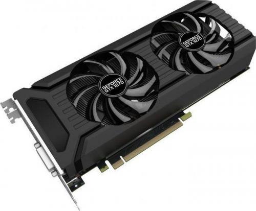 Karta graficzna Palit GeForce GTX 1070 Dual 8GB GDDR5 (256 Bit) HDMI, DVI, 3x DP, BOX (NE51070015P2D)
