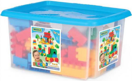 Wader Klocki w pojemniku dla chłopców 132 elementy (41270)