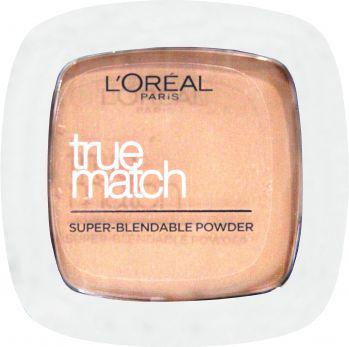 L'Oreal Paris True Match Powder Puder w kamieniu W1  Golden Ivory 9g