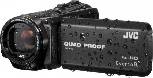 Kamera cyfrowa JVC GZ-R415 Czarna (GZ-R415B)