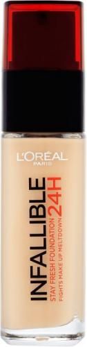 Loreal Infallible Stay Fresh Foundation 24H 125 Natural Rose 30ml