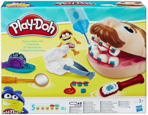 Hasbro Play-Doh Zestaw Doctor Dentysta (B5520)