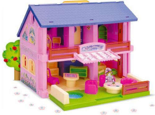 Wader Domek dla lalek Play House (25400)