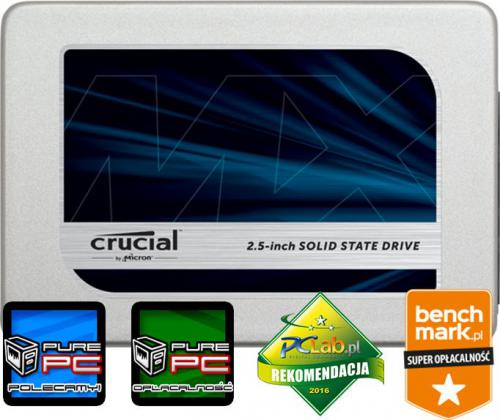 Dysk SSD Crucial MX300 275GB SATA3 (CT275MX300SSD1)
