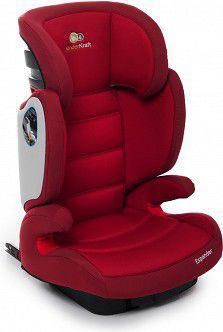 Fotelik samochodowy KinderKraft Expander Czerwony ISOFIX (II/III) (KKEXPANREDISFX)