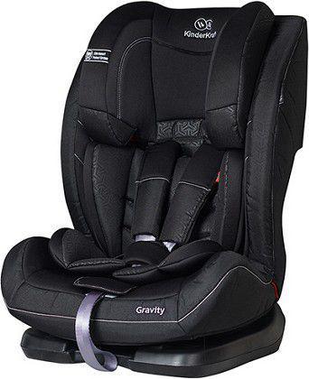 Fotelik samochodowy KinderKraft Gravity Czarny (KKFGRAVBLK0000)