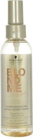Schwarzkopf Blond Me Shine Enhancing Spray Conditioner Odżywka do włosów 150ml