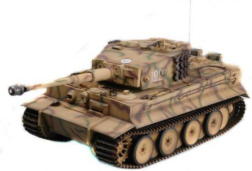 Gimmik Trumpeter 1:16 German Tiger I 2.4GHz RTR (UF/00808)