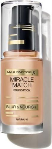 MAX FACTOR Miracle Match Foundation Podkład 50 Natural 30ml