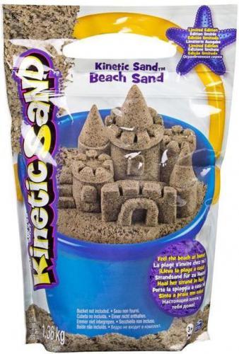 Piasek kinetyczny Spin Master Kinetic Sand - Piasek Plażowy 1,36 kg (6028363)