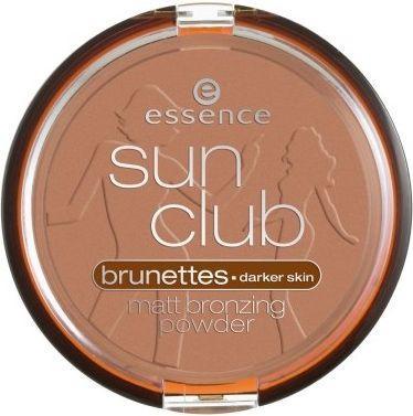 Essence Sun Club Matt Bronzing Powder W 02 Sunny 15g