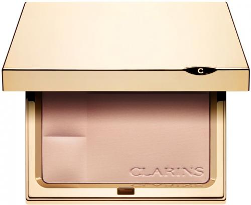 Clarins Ever Matte Shine Control Mineral Powder Puder Matujący w Kompakcie 00 Transparent Opal 10g