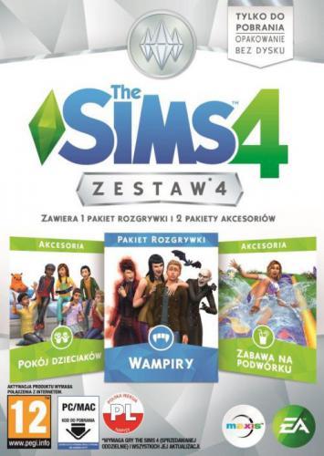 The Sims 4 Zestaw 4