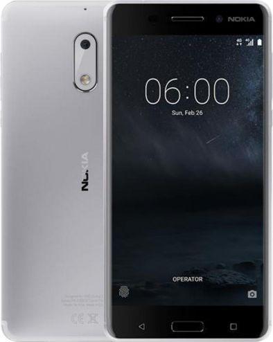 Smartfon Nokia 6 DS SILVER (11PLES01A13)
