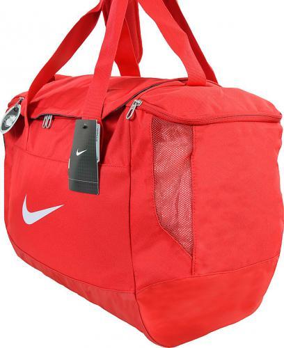 Nike Torba sportowa Club Team Swoosh Duffel M czerwona (BA5193 657)