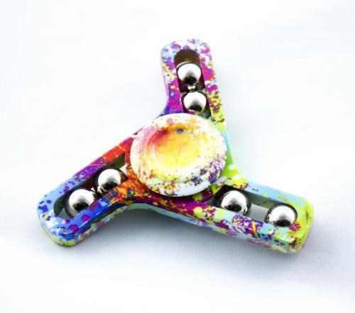 INNI Fidget spinner kolorowy 3D tempo