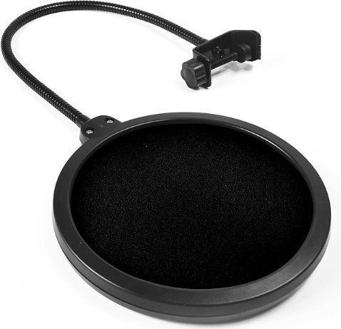 Mikrofon Mozos Studyjny - Pop Filtr Mikrofonowy PS-1, osłona
